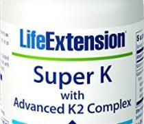 Life Extension Super K with Advanced K2 Complex 90 softgels