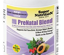 SuperNutrition Prenatal and Maternity Health Blend Multivitamin, 180 Count