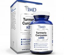 1MD Advanced Turmeric Curcumin Platinum x285, 60 Capsules