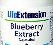 Life Extension Blueberry Extract, 60 vegetarian capsules