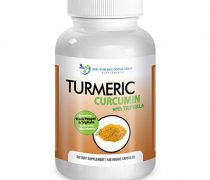Turmeric Curcumin-2250mg/d-180 Veg Caps-95% Curcuminoids w/Black Pepper Extract (Piperine) – 750mg capsules – 100% ORGANIC Turmeric – with Triphala