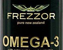 Frezzor | Natural Omega-3 | Greenlip Mussel Oil | 60 soft gel capsules