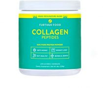 Further Food Collagen Peptides Protein Powder: Grass-Fed, Pasture-Raised, Paleo, Keto. 100% Pure Premium Hydrolyzed Collagen (8 oz)