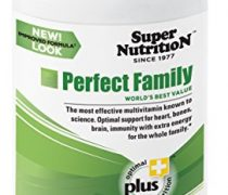 SuperNutrition Perfect Family Multivitamin, Iron Free, 240 Count