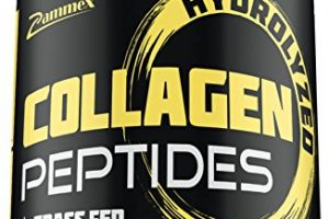 Premium Hydrolyzed Collagen Peptides(21oz) – Best Value|Non-GMO, Grass-Fed, Gluten-Free, Pasture Raised Cattle|Unflavored and Easy To Mix – 100% Pure Ultimate Collagen Powder