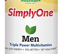 SuperNutrition SimplyOne Men's Once Daily, All-In-One Multivitamin, 90 Count