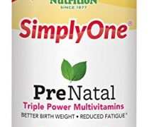 SuperNutrition SimplyOne Prenatal Multivitamin, 90 Count