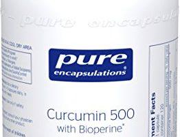 Pure Encapsulations – Curcumin 500 with Bioperine – Hypoallergenic Curcumin C3 Complex with Bioperine – 120 Capsules