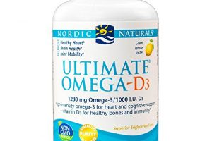 Nordic Naturals – Ultimate Omega-D3, Supports Healthy Bones and Immunity, 120 Soft Gels (FFP)