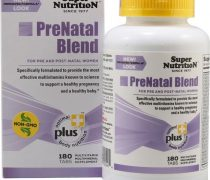 Super Nutrition PreNatal Blend — 180 Tabs – 3PC