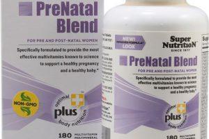 Super Nutrition PreNatal Blend — 180 Tabs – 3PC