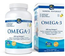 Nordic Naturals – Omega-3, Cognition, Heart Health, and Immune Support, 180 Soft Gels