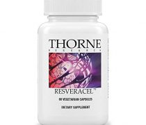 Thorne Research – ResveraCel – Nicotinamide Riboside (Niagen) with Resveratrol and Cofactors in One Capsule – Supports Healthy Aging – 60 Capsules