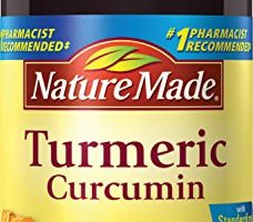 Nature Made Turmeric Curcumin 500 mg. Capsules (Antioxidant) 60 Ct