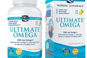 Nordic Naturals – Ultimate Omega, Support for a Healthy Heart, 120 Soft Gels