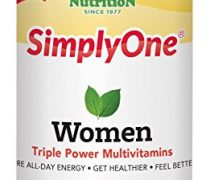 SuperNutrition SimplyOne Women's Once Daily, All-In-One Multivitamin, 90 Count