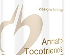 Designs for Health – Annatto Tocotrienols + Black Cumin Seed Oil – 125mg Tocotrienols, Tocopherol-Free, 60 Softgels