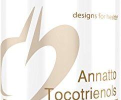 Designs for Health – Annatto Tocotrienols + Black Cumin Seed Oil – 125mg Tocotrienols, Tocopherol-Free, 60 Softgels
