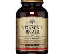 Solgar – Vitamin E 1000 IU Mixed (d-Alpha Tocopherols & Mixed Tocopherols) 100 Softgels