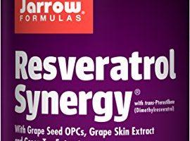 Jarrow Formulas Resveratrol Synergy, Supports Cardiovascular Function, 120 Tabs