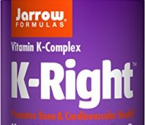 Jarrow Formulas K-Right, Promotes Bone & Cardiovascular Health, Vitamin K-Complex, 60 Softgels