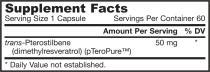 Jarrow Formulas Pterostilbene,   Supports Cardiovascular & Neurologic Health, 50 Mg, 60 Veggie Caps 2