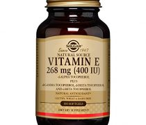 Solgar – Vitamin E 400 IU Mixed (d-Alpha Tocopherol & Mixed Tocopherols) 100 Softgels