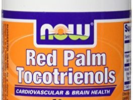 Now Foods Red Palm Tocotrienols Softgels, 50 mg, 60 Count