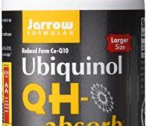 Jarrow Formulas Ubiquinol  QH-Absorb, High Absorption/Enhanced Stability, 100 mg, 120 Softgels