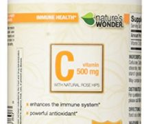 Nature's Wonder Vitamin C 500mg RH Tablets, 300 Count