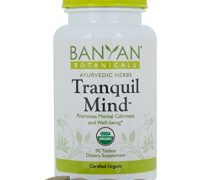 Banyan Botanicals Tranquil Mind – USDA Organic – 90 tablets – Soothes Nervousness & Stress – Supports a Calm Mind*
