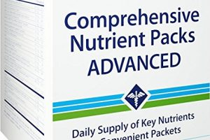 Life Extension Comprehensive Nutrient Packs Advanced, 30 packets