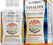 Dr. Tobias Multivitamin for Women and for Men – Enhanced Bioavailability – With Whole Food & Herbal Ingredients, Minerals and Enzymes – Rich in Vitamin B & C – Womens And Mens Daily Vitamins – Non-GMO