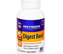 Enzymedica – Digest Basic, Essential, Full Spectrum Digestive Enzymes, 90 Capsules (FFP)
