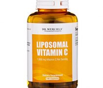 Dr. Mercola Liposomal Vitamin C 1,000mg per Serving – 180 Capsules – 90 Servings – Antioxidant Supplement with Higher Bioavailability Potential & Immune System Support