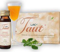 Taut Premium Collagen Replenishment Formula (Box of 8 Bottles, 1.7 Oz Each)