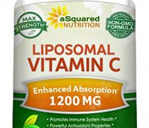 Liposomal Vitamin C – 1200mg Supplement – 180 Capsules – High Absorption Vit C Ascorbic Acid Pills – Liposome Encapsulated – Supports Immune System & Collagen Health – Non-GMO – 90 Servings