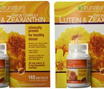 TruNature Vision Complex with Lutein & Zeaxanthin – 2 Bottles, 140 Softgels Each