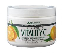 American Nutriceuticals Vitality C – 200 grams | Ultra High-Potency Vitamin C Powder Without Gastric Distress| Enhanced Absorption, Neutral pH with GMS-Ribose Complex