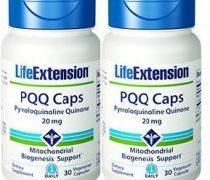 Life Extension PQQ Caps 20 Mg, 30 vegetarian caps x 2