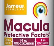 Jarrow Formulas Macula Protective Factors Lutein/Zeaxanthin/Astaxanthin Softgels, 30 Count