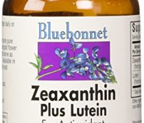 BlueBonnet Zeaxanthin Plus Lutein Softgels, 60 Count