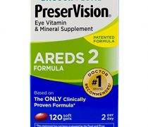 PreserVision AREDS 2 Vitamin and Mineral Supplement Soft Gels, 120 Count