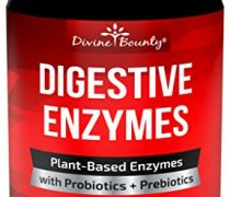 Digestive Enzymes with Probiotics & Prebiotics – Digestive Enzyme Supplements w Lipase, Amylase, Bromelain For Digestion, Bloating, Gas, and IBS For Men and Women – 90 Vegetarian Capsules