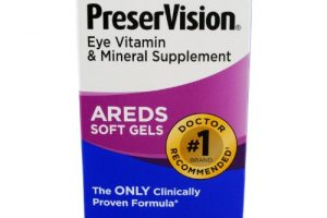 Preservision Vitamin and Mineral Supplement 90 ct Soft Gels