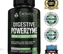 Digestive PowerZyme – Advanced Digestive Enzyme Supplement – 18 Potent Enzymes including Bromelain, Amylase, and Lactase to Relieve Indigestion, Gas, Bloating, even Dairy and Gluten Issues!
