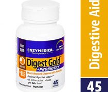 Enzymedica – Digest Gold + Probiotics, Advanced Digestive Enzymes + Probiotics for Essential Digest Care, 45 Capsules (FFP)