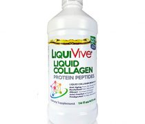 LiquiVive Collagen Liquid Protein Peptides Supplement – Pure Super Collagen Hydrolysate Drink Offers Higher Absorption Than Collagen Powder, Pills and Capsules. Type 1 and 3