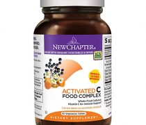 New Chapter Vitamin C – Activated C Food Complex for Immune Support + Organic Non-GMO Ingredients – 60 ct