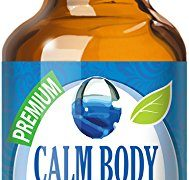 Calm Body, Calm Mind Blend 100% Pure, Best Therapeutic Grade Essential Oil – 30ml / 1 (oz) Ounce – Sweet Marjoram, Roman Chamomile, Ylang Ylang, Sandalwood, Vanilla, French Lavender